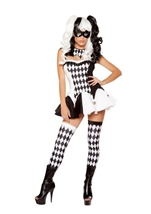 Adult Devious Jester Costume