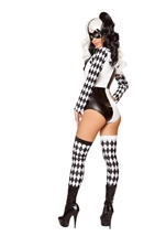 Adult Playful Jester Babe Woman Costume
