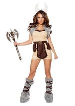 Adult Vicious Viking Woman Costume