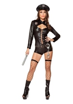 Adult Police Office Code 4 Woman Costume