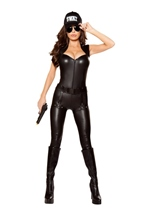 Swat Commander Woman Costume