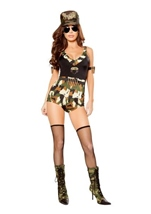 Sargent Hottie Woman Costume