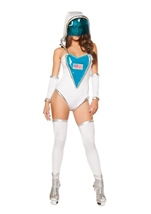 Space Commander Woman Costume