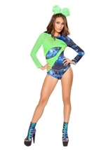 Adult Alien Babe Woman Costume