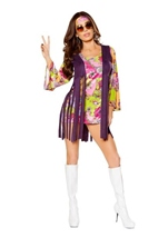 Groovy Hippie Woman Costume