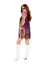 Groovy Hippie Woman Halloween Costume