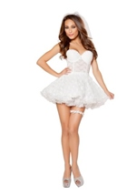 Bridal Babe Woman Costume