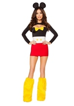 Adult Playful Mouse Woman Costume