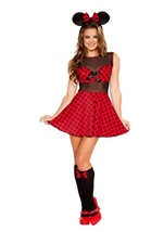 Miss Mouse Woman Costume