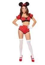 Girlie Mouse Woman Halloween Costume