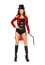 Sassy Ring Leader Woman Halloween Costume