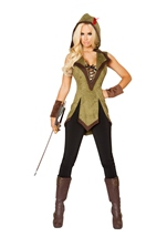 Adult Hooded Outlaw Woman Costume