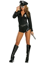 Lady Law Woman Police Costume
