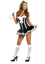 Super Sexy Maid Womens Costume