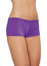 Women Purple Shorts