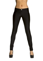 Black Disco 80s Women Pants