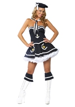 Adult Flirty Sailor Women Costume