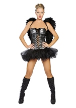 Naughty Dark Angel Women Sexy Angel Costume