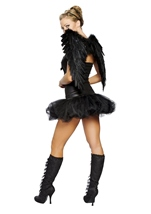 Adult Naughty Dark Angel Women Sexy Angel Costume