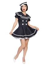 Pinup Captain Women Sailor Costume