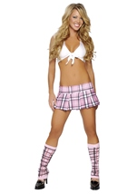Flirty School Girl Womens Costume