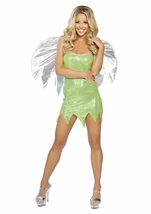 Green Sprite Womens Costume