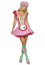 Strawberry Girl Woman Costume