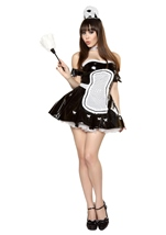 Maid in LA Womens Costume