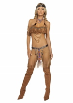 Adult Cherokee Warrior Woman Costume