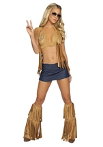 Seventies Hippie Babe Women Costume