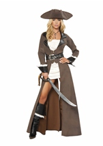 Pirate Captain Woman Deluxe Costume