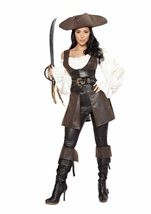 Deluxe Swashbuckler Woman Pirate Costume