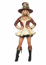 Tea Party Hatter Woman Deluxe Costume