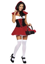 Red Hot Riding Hood Woman Halloween Costume