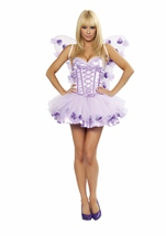 Lavender Fairy Womens Costume