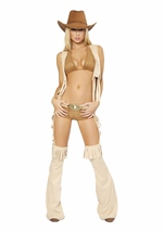 Adult Easy Rider Sexy Cowgirl Costume