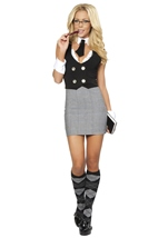 Adult Librarian Womens Costume