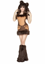 Bodacious Deluxe Bear Women Costume