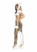 Charming Cheetah Deluxe Women Halloween Costume