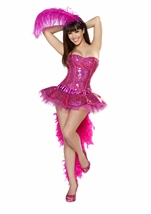 Sexy Flamingo Deluxe Women Costume