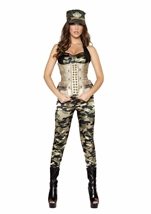 Sensual Soldier Women Costume