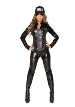 Bulletproof Swat Babe Women Halloween Costume