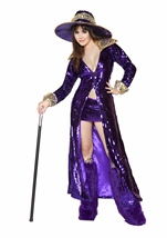 Flashy Pimp Women Costume