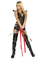 Sexy Assassin Women Warrior Halloween Costume