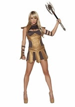 Studded Warrior Armor Women Costume