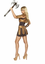 Studded Warrior Armor Women Halloween Costume