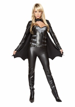 Sexy Bat Warrior Woman Deluxe Costume