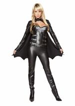 Sexy Bat Warrior Woman Deluxe Halloween Costume