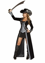 Sexy Pirate Princess Deluxe Costume
