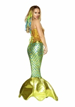 Adult Siren Of The Sea Deluxe Mermaid Woman Costume